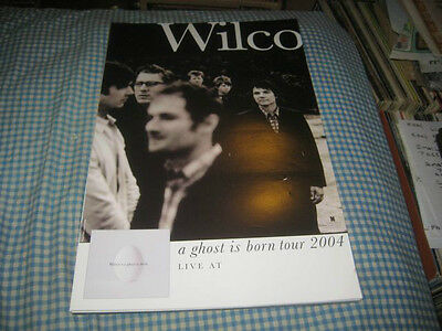 WILCO-(a ghost is born tour 2004)-1 POSTER-11X17-RARE