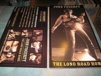 JOHN FOGERTY-(the long road home)-1 POSTER FLAT-2 SIDED-12X24-NMINT-RARE
