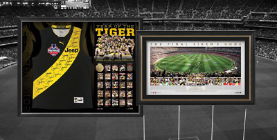 Richmond Tigers Year of The Tigers 2017 AFL Premiership Memorabilia Package