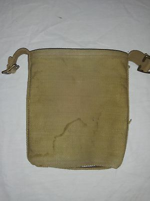 WW2 WWII Canadian British Pattern 37 Webbing Canteen Cover 1942