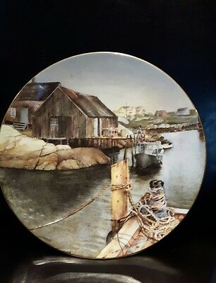Royal Doulton presents collectors Plate Peggy's Cove limited edition 4625/5000
