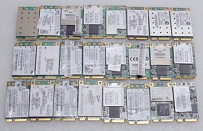 Lot Of 24 Assorted Laptop Wifi Cards