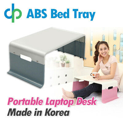 ABS Bed Tray Easy to Carry Writing Trayble Sofa Bed Portable Laptop Desk Table