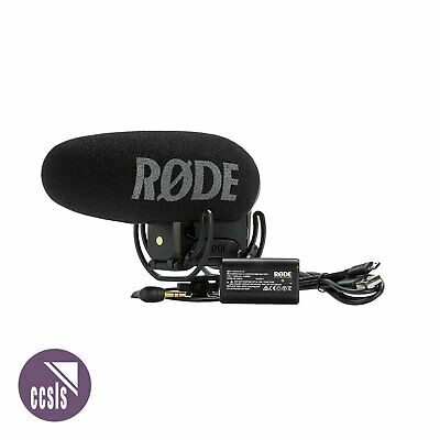 Rode VideoMic Pro PLUS Compact Shotgun Microphone with Rechargeable Battery