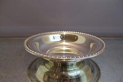 """Wallace Sterling Silver Halifax 11"""" Centerpiece Bowl 385 Grams. Perfect Gift"""
