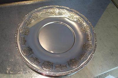 "Sterling Silver Centerpiece Bowl 12"" 7279 Marking.Fine Detail V.G. Cond."