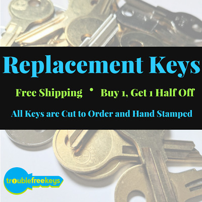 Replacement Steelcase File Cabinet Key, FR301-FR550 - Buy 2+: Save 20%