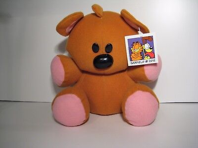 Garfield & Odie POOKY Teddy Bear Plush 9.5'' NWT Toy Factory