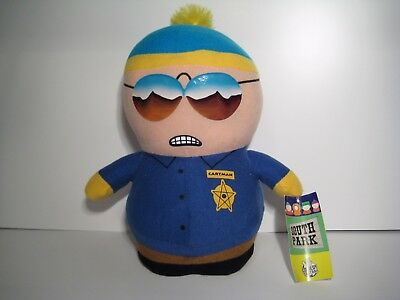 South Park CARTMAN Police Officer Plush With Tags 11'' Nanco