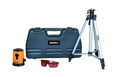 Johnson Level and Tool 40-0921 Self-Leveling Cross Line Laser Level Kit NO TAX