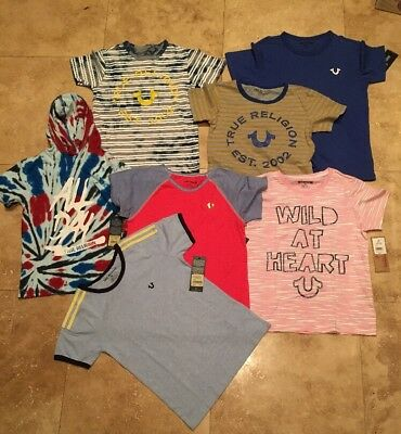 NWT TRUE RELIGION BIG KIDS SIZES: 8, 10, 12, 14, 16 MSRP to $59.00ea SOLD EACH