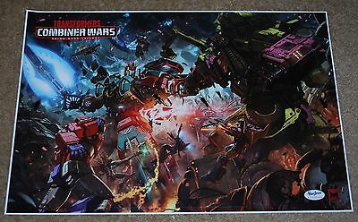 Sdcc 2016 Hasbro Transformers Combiner Wars Promo Poster