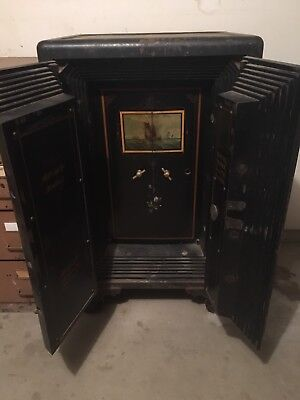 Antique Mosler Floor Safe from late 1800's - The REAL Deal!