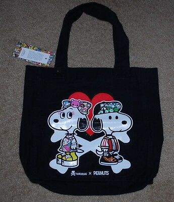 Sdcc 2017 Exclusive Tokidoki X Peanuts Tote Bag Brand New With Tags