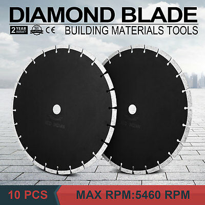 10Pcs 14 12mm Segmented Diamond Saw Blade Clay Concrete Clay Pavers