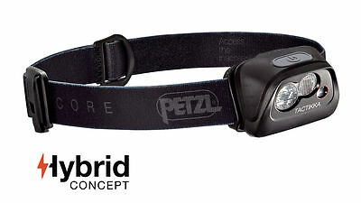 Petzl Tactikka Core - Compact multi-beam headlamp with red lighting and CORE