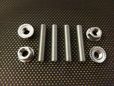 Yamaha Virago 535 Stainless Steel Exhaust Studs And Flange Nuts Xv 535 87-02