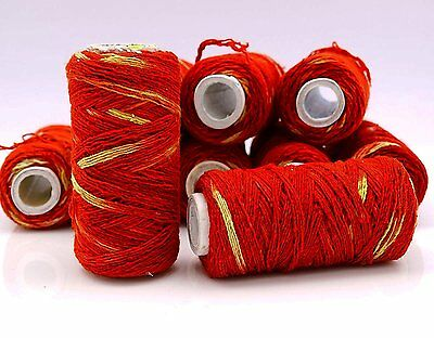 3 X Religious Pooja Moli Mauli Kalawa Red Cotton Holy Hindu Wrist Thread Band