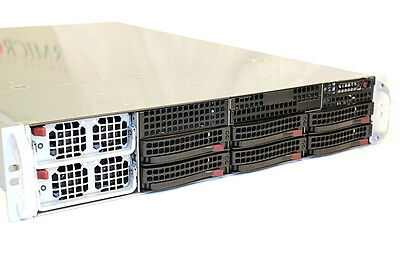 SUPERMICRO 40CORE SC828TQ-R1400LPB/X9QR7-TF+/4x E5-4650 V2 ES/512GB RAM SERVER