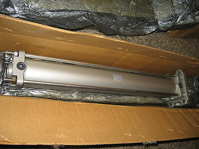 New SMC CDA2F80-580 Pneumatic cylinder - 80mm bore, 580mm stroke