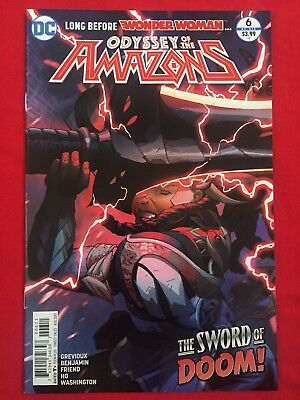 Odyssey Of The Amazons #6 Wonder Woman DC
