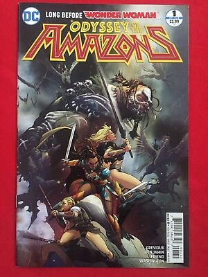Odyssey Of The Amazons #1 Wonder Woman DC