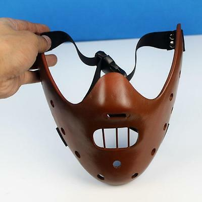 Hannibal Lecter Mask Silence of the Lambs Cosplay Props Halloween Horror Mask
