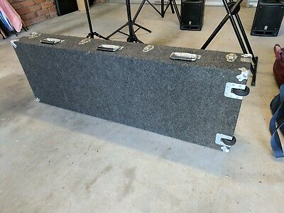 Keyboard Case - Solid wood Construction Carpet Covered