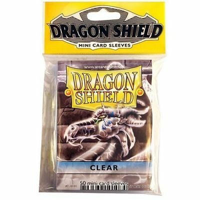 Dragon Shield Clear Mini Card Sleeves (50ct) AT-10101