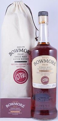 Bowmore 2002 12 Years Feis Ile 2015 Oloroso Sherry Butt Cask 2214 Whisky 59,6%