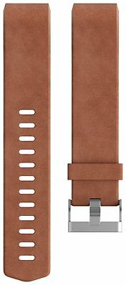 Fitbit Charge 2 Large Leather Accessory Wristband - Brown