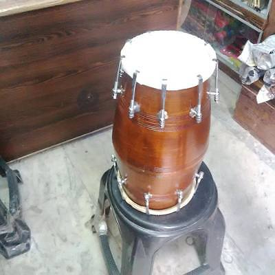 "GOOD dholak'SHESHAM_wood""bolt fitting,dhollki AMAZING sound best offer dholak"