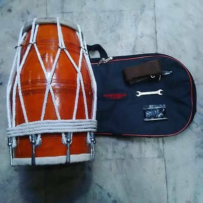 "ROPE + BOLT DHOLAK^DHOLKI:REAL""PROFESSIONAL""for""orcestra,FAST SHIPPING.."