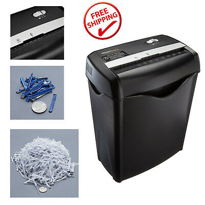 Commercial Office Paper Shredder Destroy Crosscut Heavy-duty Credit Card Cut New