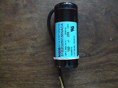Motor Start, Starting Capacitor 150uf, 150mfd, microfarads 230V 250V 300V