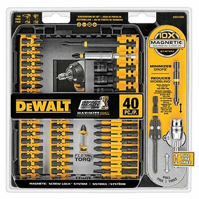 DeWalt 40 Piece Impact Ready Screw Driving Set DWA2T40IR,BRAND NEW