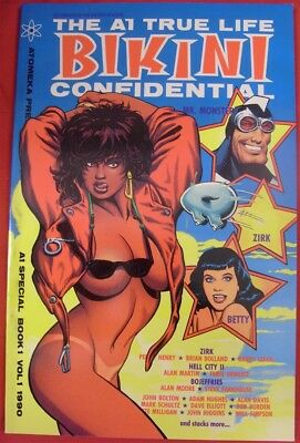 A1 True Life Bikini Confidential Atomeka Comic Betty Page Adam Hughes 1990 Nm