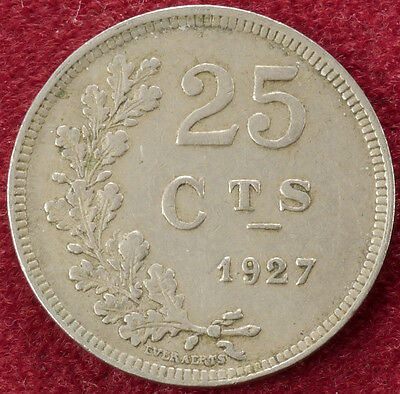 Luxembourg 25 Centimes 1927 (B2006)
