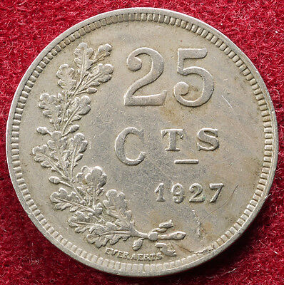 Luxembourg 25 Centimes1927