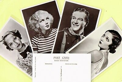 PICTUREGOER - MAIN Series 1930s Film Star Postcards #787 to #830 [Cinema/Movie]