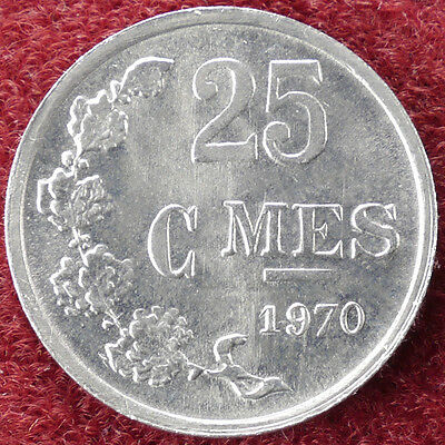 Luxembourg 25 Centimes 1970 (D1204)
