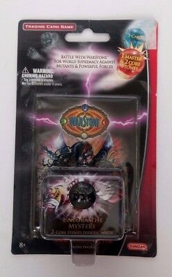 Warstone Trading Card Game 1 Master 2 Core Stones & 5 Cards Duncan Toys New