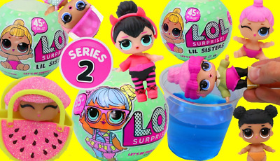 LoL Surprise Doll 2 Series Lil L.O.L. Dolls Xmas Toy Gift Sisters Outrageous New