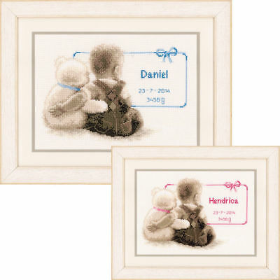 Vervaco Counted Cross Stitch Kit- My Favorite Teddy New