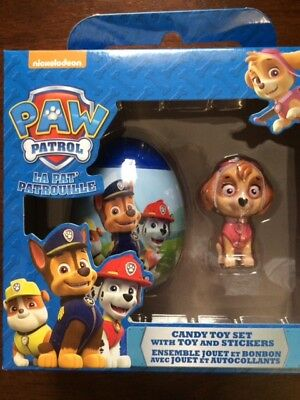 New Paw Patrol Skye Egg and candy toy set  With Toy ! Ages 3 And Up