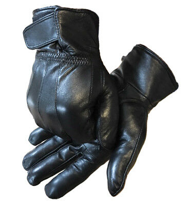 Men's Super Soft Thermal Lined Leather Gloves