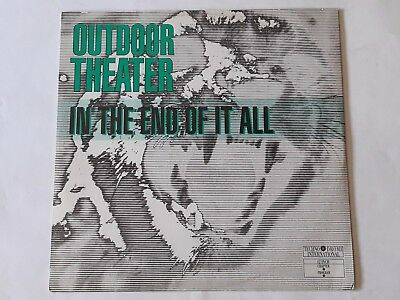 "Outdoor Theater - In The End Of It All - 12"" Vinyl - 1990"