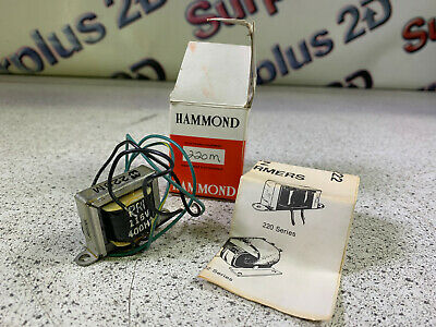 Hammond 220M transformer and Metal Cabinetry