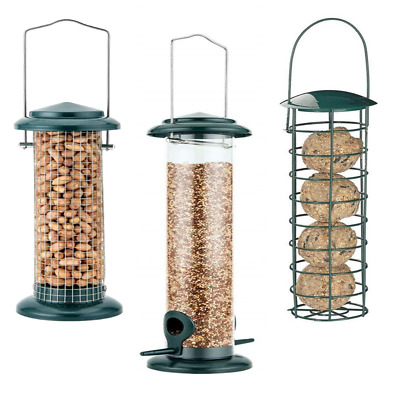 Heritage Wild Bird Feeding Station Hanging Feeders Garden Seed Feeder Birds