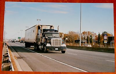 Montreal Photo Freightliner Classic Xl Semi Truck On Highway 20 Dorval